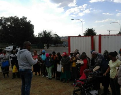 Evan. Wayne Joins Noordgesig Bread Outreach