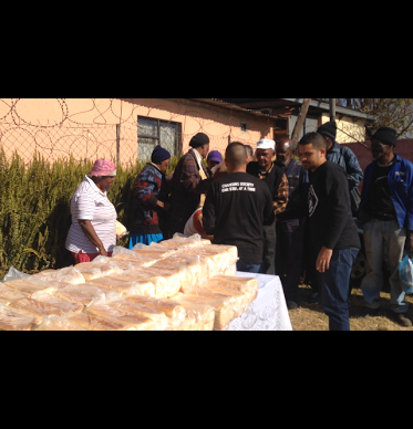 30 People Responded to Christ as Healers Foundation Give Out Bread